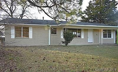 Bossier City Single Family Home For Sale: 1814 Cambridge Street