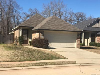 Bossier City Single Family Home For Sale: 1802 Wild Rose