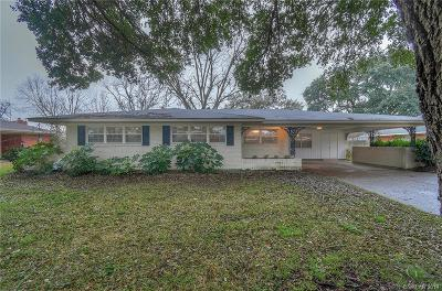 Bossier City Single Family Home For Sale: 2312 Arlington Place