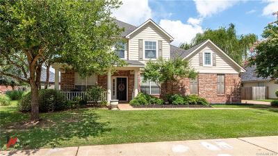 Shreveport Single Family Home For Sale: 8006 Captain Mary Miller Drive