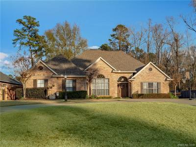 Haughton Single Family Home For Sale: 316 Blue Fox Circle
