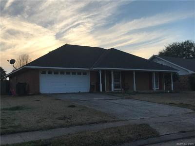 Bossier City Single Family Home For Sale: 511 Southwood Drive