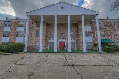 Shreveport Condo/Townhouse For Sale: 3820 Fairfield Avenue #15