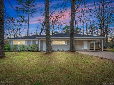 Shreveport Single Family Home For Sale: 3124 Sandra Drive