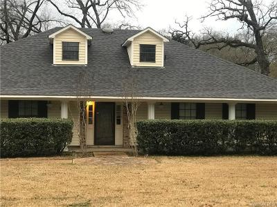Shreveport Single Family Home For Sale: 917 Crescent Road