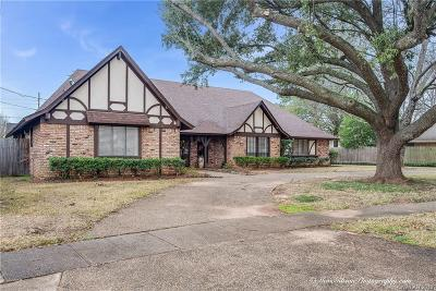 Bossier City Single Family Home For Sale: 2405 N Waverly Drive