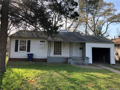 Shreveport Single Family Home For Sale: 4216 Saint Vincent