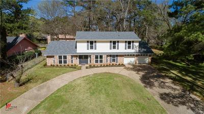 Shreveport Single Family Home For Sale: 9614 Baird Road
