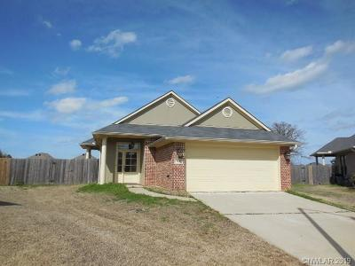 Bossier City Single Family Home For Sale: 2020 Wild Iris