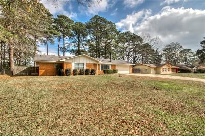 Shreveport Single Family Home For Sale: 9505 Palmetto Lane