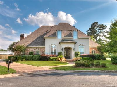 Shreveport Single Family Home For Sale: 11932 Longfellow Circle