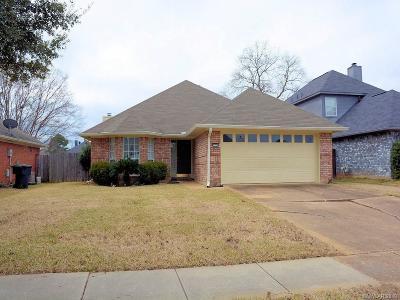 Bossier City Single Family Home For Sale: 3308 Danbury Court
