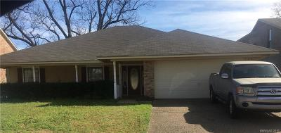 Bossier City Single Family Home For Sale: 1340 Chopin Drive