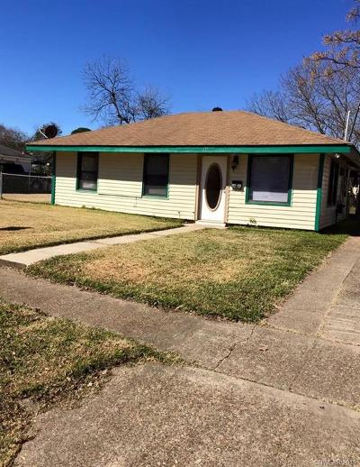 Bossier City Single Family Home For Sale: 211 Westerfield Street