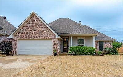 Shreveport Single Family Home For Sale: 9049 Sundance Lane