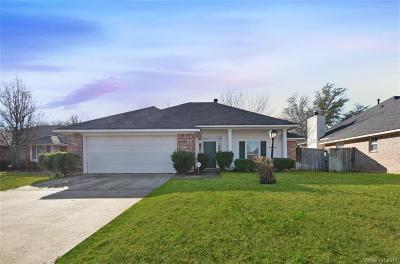 Shreveport Single Family Home For Sale: 9116 Copperman Court