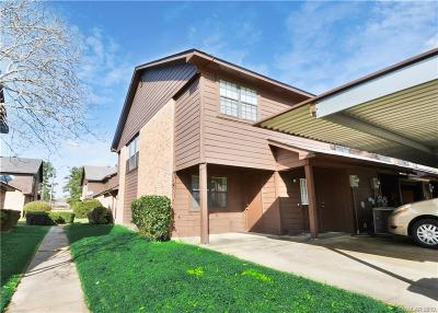 Shreveport Condo/Townhouse For Sale: 6000 Buncombe Road #16