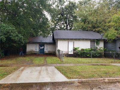 Shreveport Single Family Home For Sale: 3227 Desoto Street