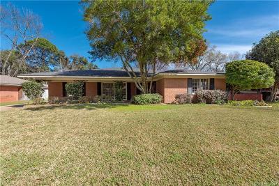 Shreveport Single Family Home For Sale: 872 River Road
