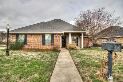 Bossier City Single Family Home For Sale: 415 Springfield Place