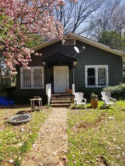 Shreveport Single Family Home For Sale: 6205 Lexington