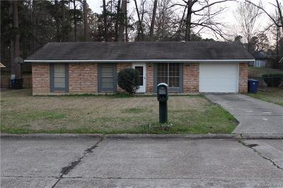 Shreveport Single Family Home For Sale: 6131 Debbie Street