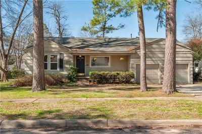 Shreveport Single Family Home For Sale: 4350 Finley Drive