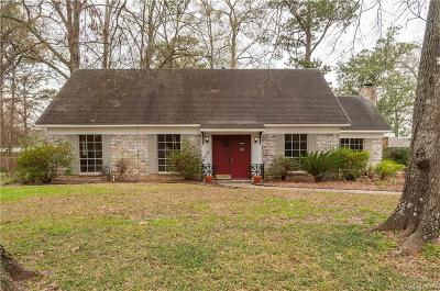 Shreveport Single Family Home For Sale: 622 Wilbrahm Court