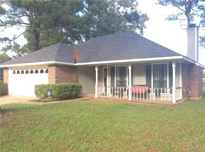 Shreveport Single Family Home For Sale: 8915 Twelve Oaks Drive