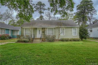 Shreveport Single Family Home For Sale: 642 Robinson Place