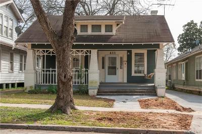 Shreveport Single Family Home For Sale: 411 Columbia Street