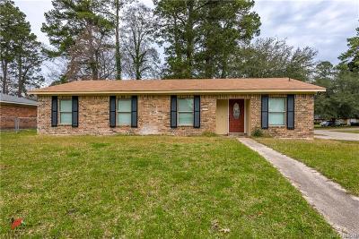 Shreveport Single Family Home For Sale: 3500 Dewberry Drive