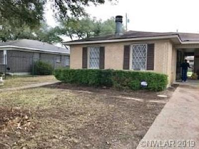 Shreveport Single Family Home For Sale: 4107 Fairfax Avenue