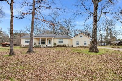 Keithville Single Family Home For Sale: 11765 Sparks Davis Road