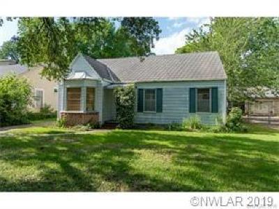 Shreveport Single Family Home For Sale: 316 Unadilla Street