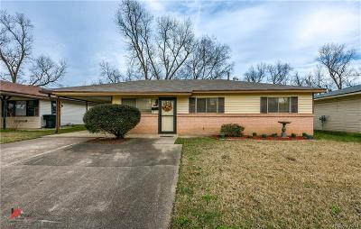 Bossier City LA Single Family Home For Sale: $109,900