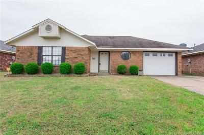 Bossier City LA Single Family Home For Sale: $135,000