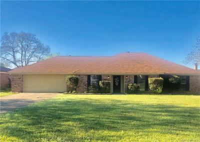 Benton Single Family Home For Sale: 4407 Parkridge Drive