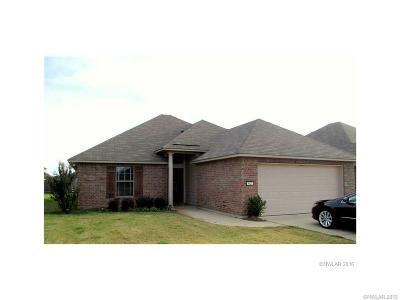 Bossier City LA Single Family Home For Sale: $174,000