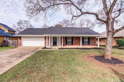 Bossier City LA Single Family Home For Sale: $175,500