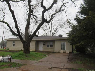 Bossier City LA Single Family Home For Sale: $68,500