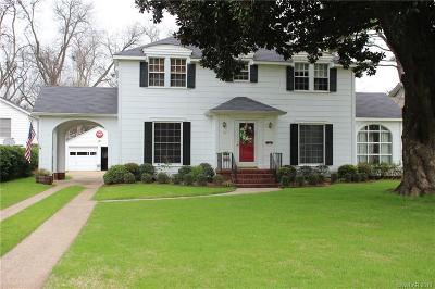 Shreveport LA Single Family Home For Sale: $274,900