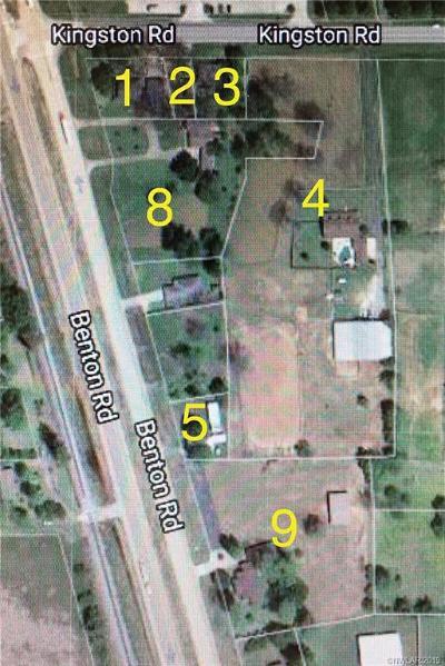 Benton Single Family Home For Sale: Kingston