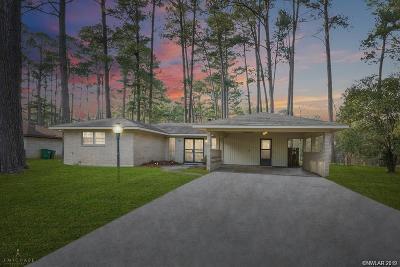 Haughton Single Family Home For Sale: 210 Pine Lake Drive