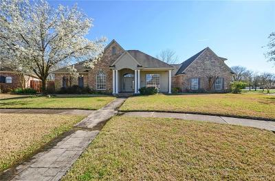 Bossier City Single Family Home For Sale: 6100 Parliament Drive