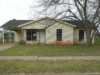 Bossier City Single Family Home For Sale: 1105 Dot