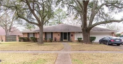 Bossier City Single Family Home For Sale: 2407 N Waverly Drive
