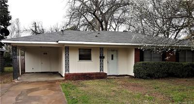 Shreveport Single Family Home For Sale: 2726 Bolch Street