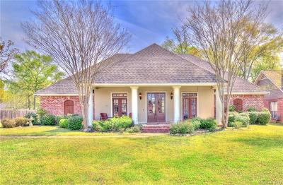 Haughton Single Family Home For Sale: 1917 Honeytree Trail