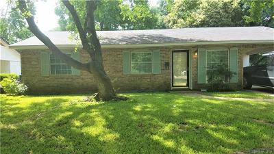 Bossier City Single Family Home For Sale: 1632 Bellaire Boulevard